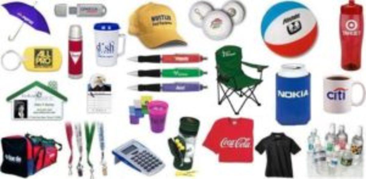 Image of various advertising specialties