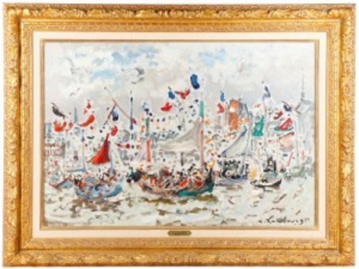 Hambourg painting
