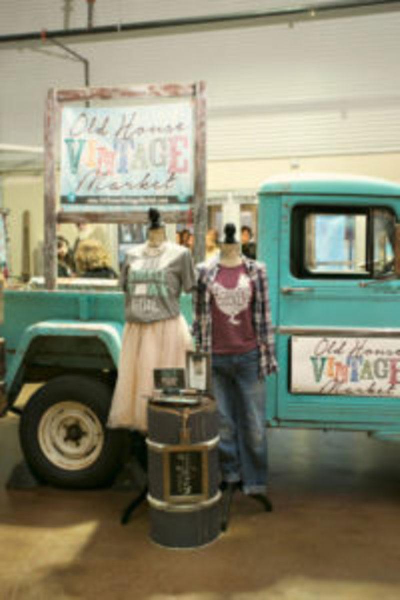 Old House Vintage Market truck