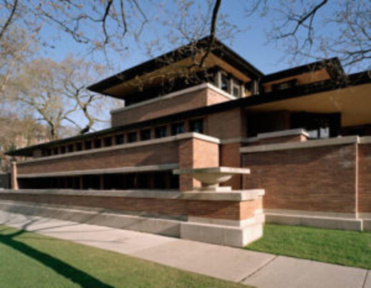 Frederick C. Robie House_Frank Lloyd Wright