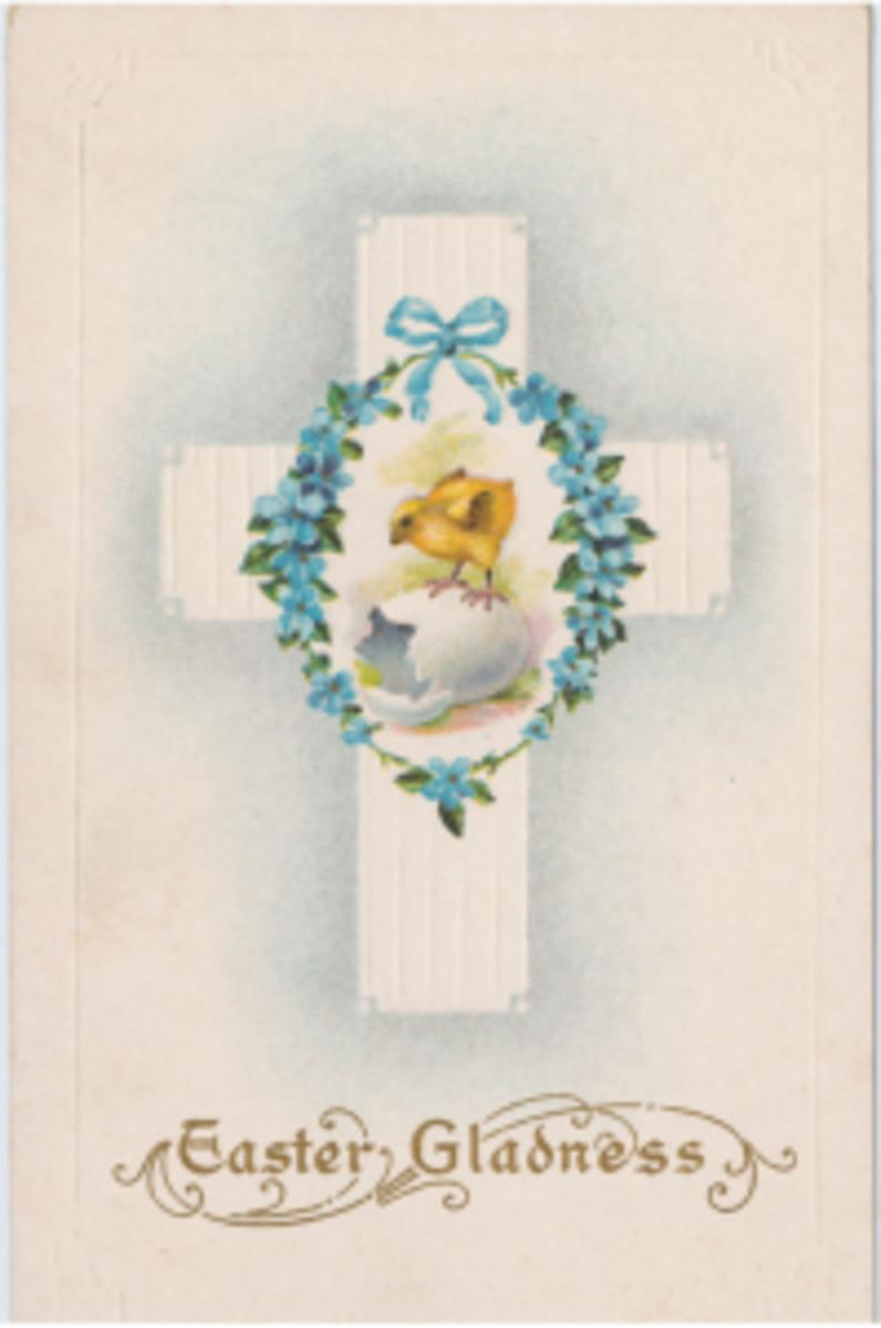 Easter Gladness postcard