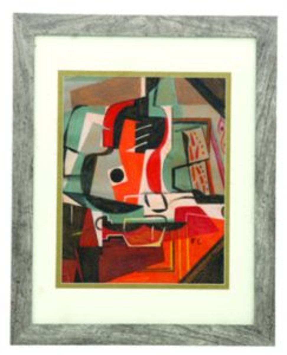 Abstract composition by Leger