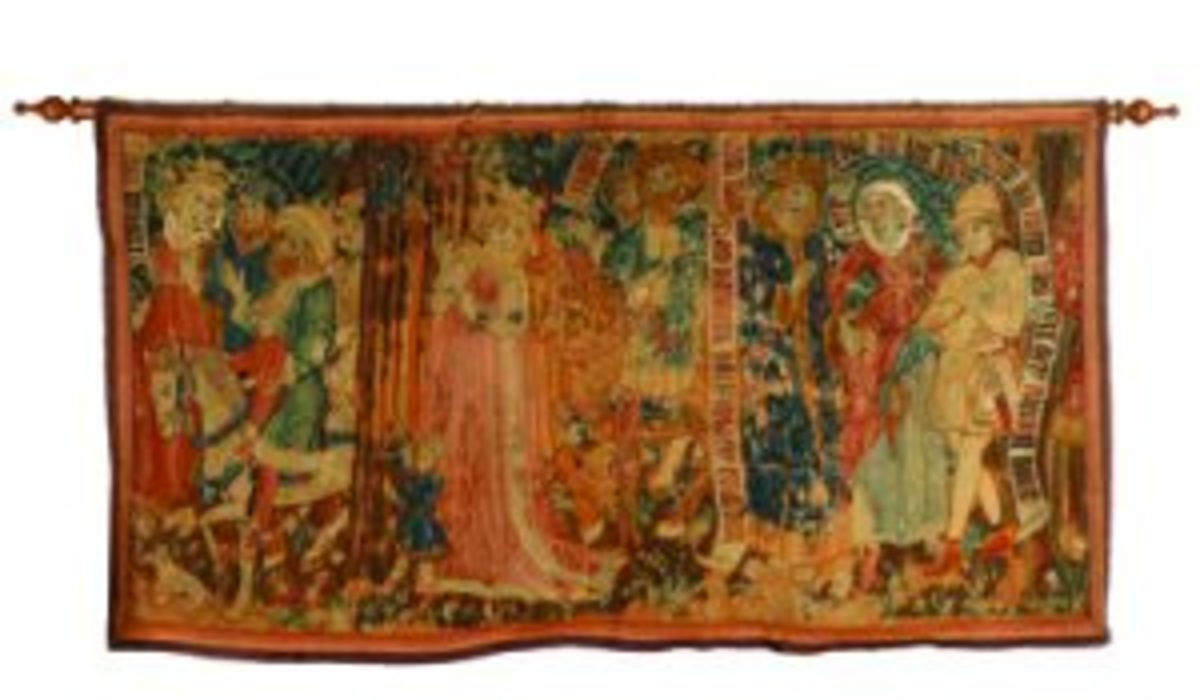 German Gothic tapestry