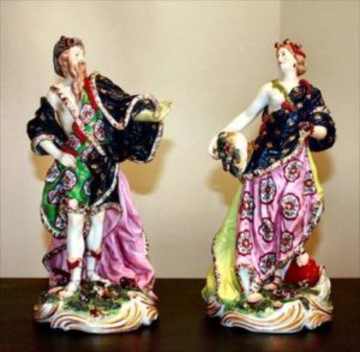 Meissen porcelain figures
