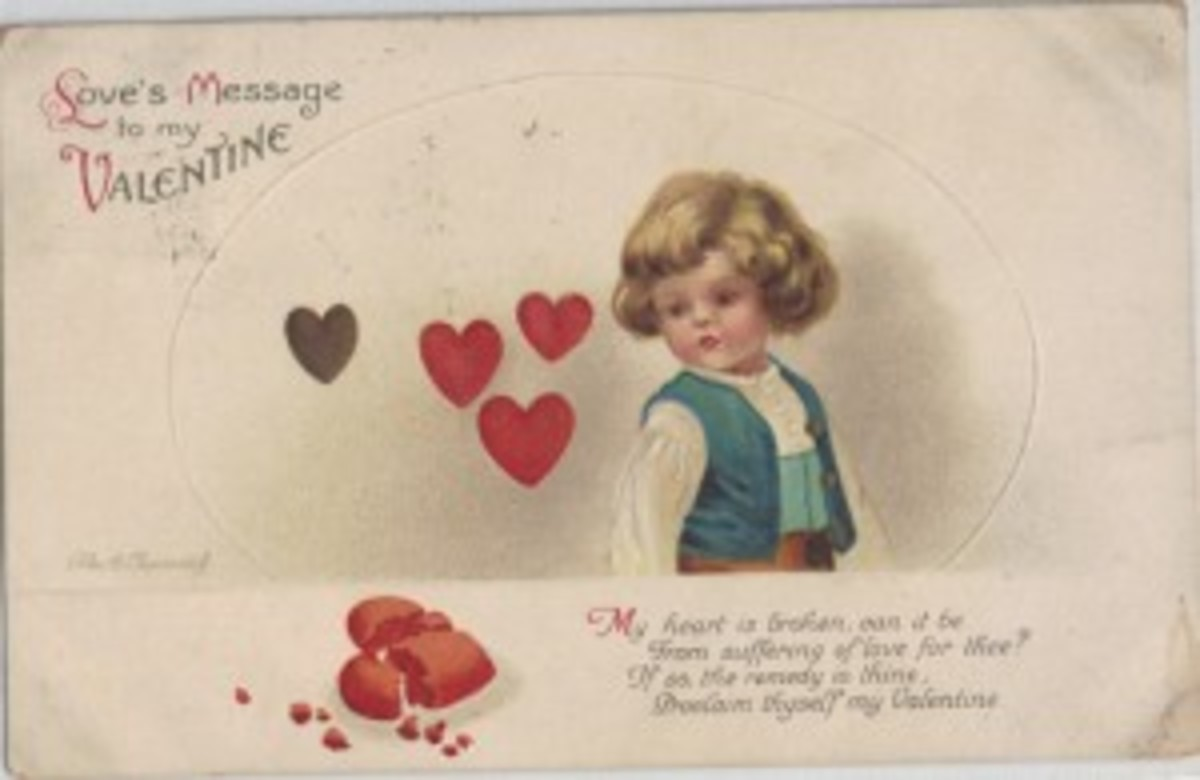 Clapsaddle Valentine postcard