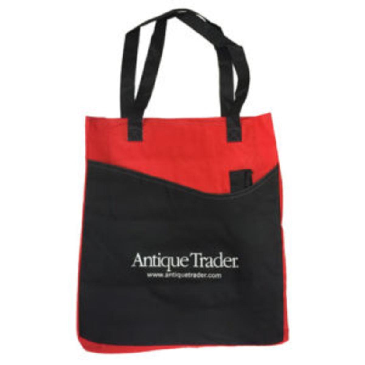 Antique Trader promotional tote bag