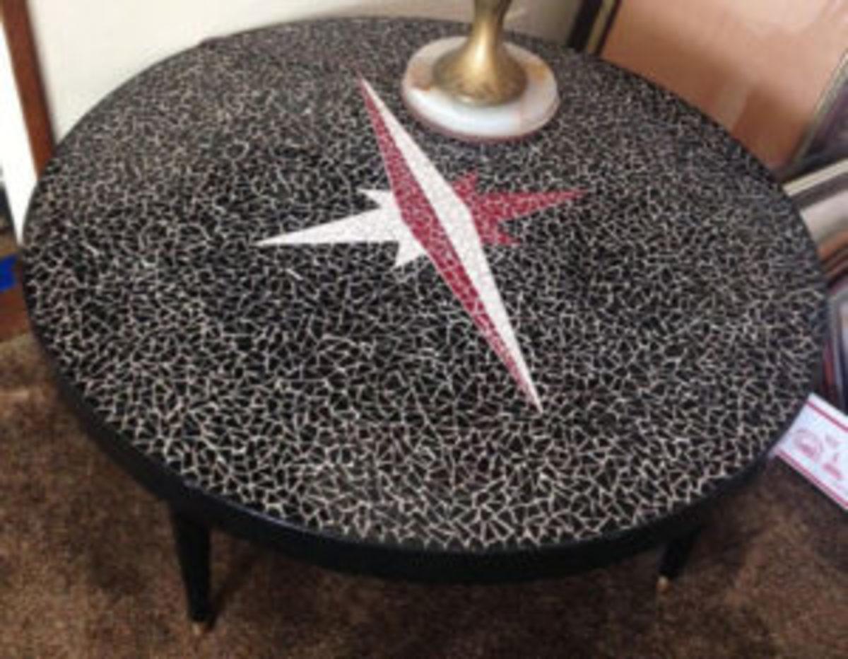 Mersman mosaic table
