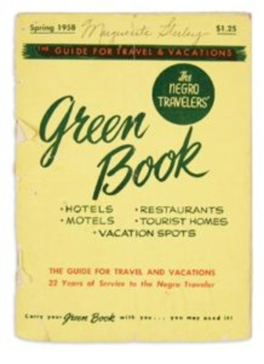 "Victor H. Green, ""The Negro Travelers Green Book"", New York, 1958. Sold for $27,500, a record for any edition."