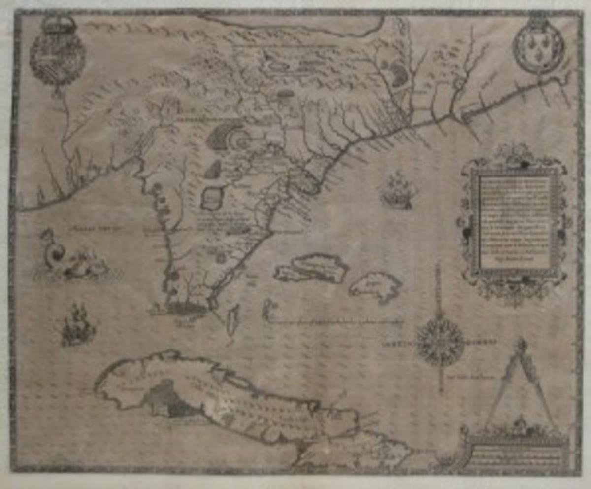 Florida map 1851