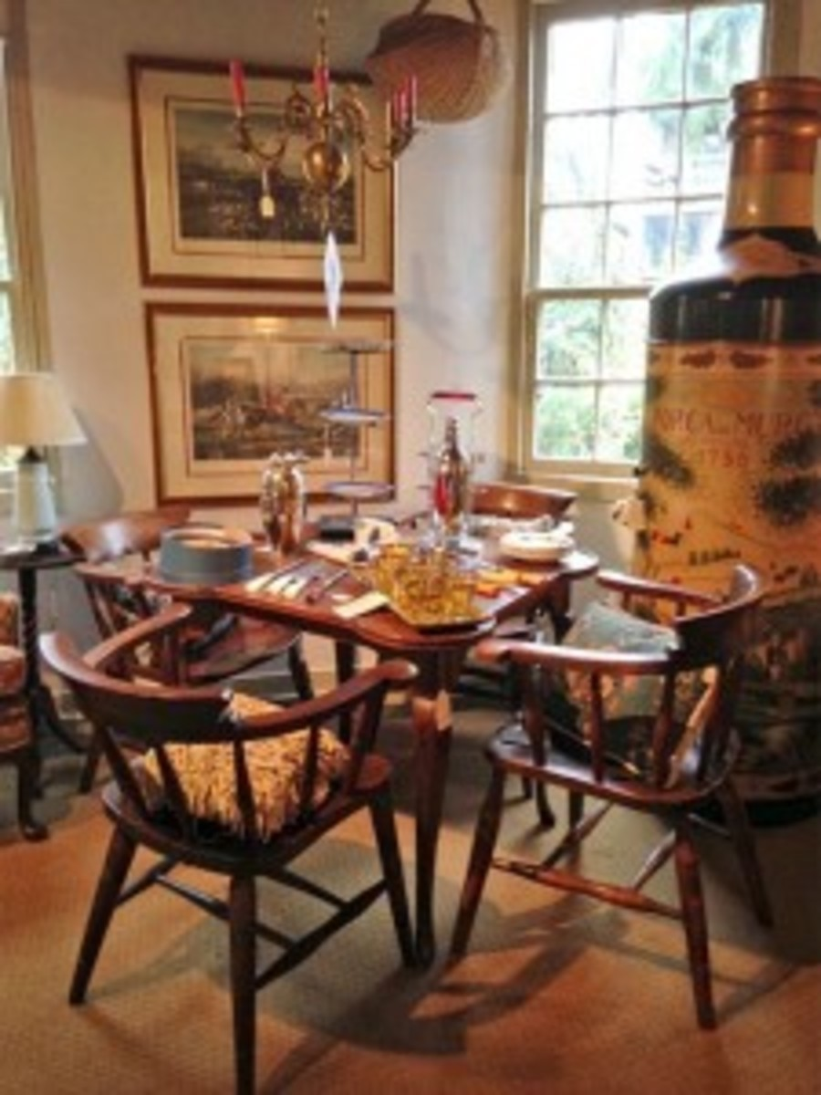 Goodman's table and chairs