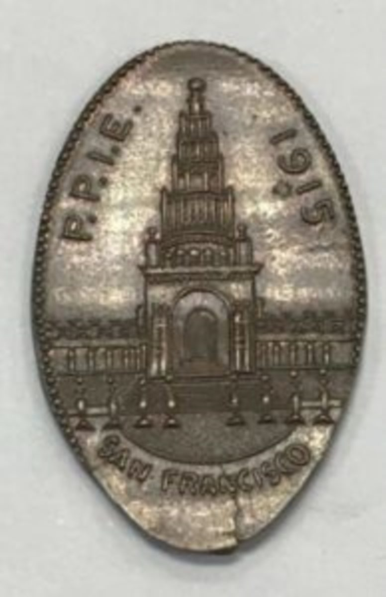 Pan-Pacific PPIE elongated penny