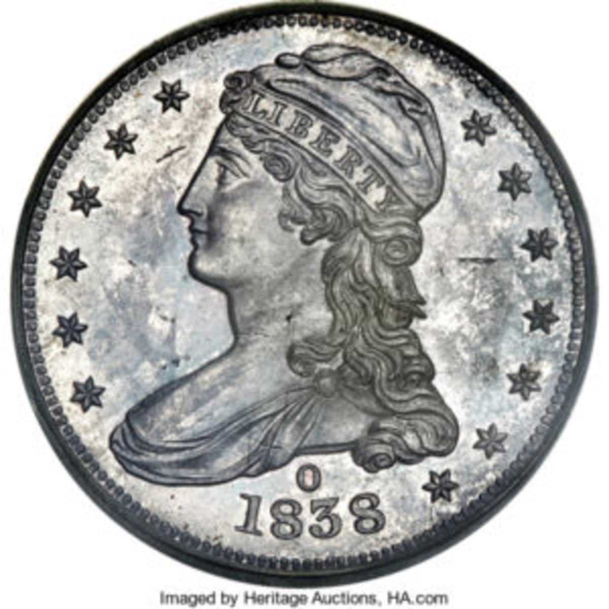 Reeded Edge Half Dollar