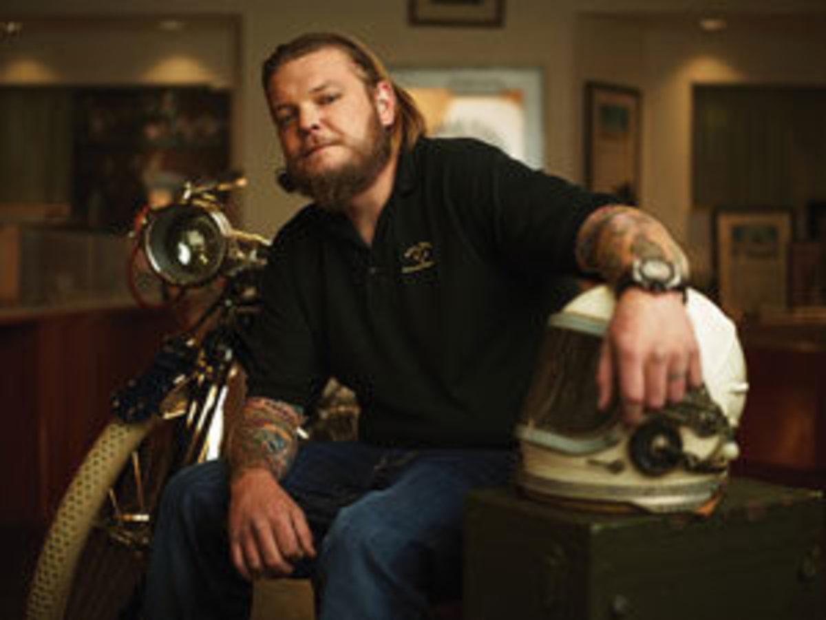 Corey Harrison. Image courtesy of HISTORY/Pawn Stars