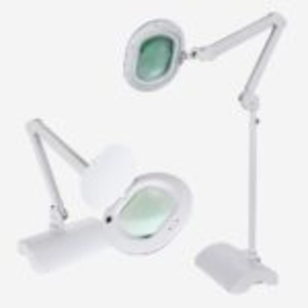 LightView XL 2in1 magnifying lamp from Brightech.