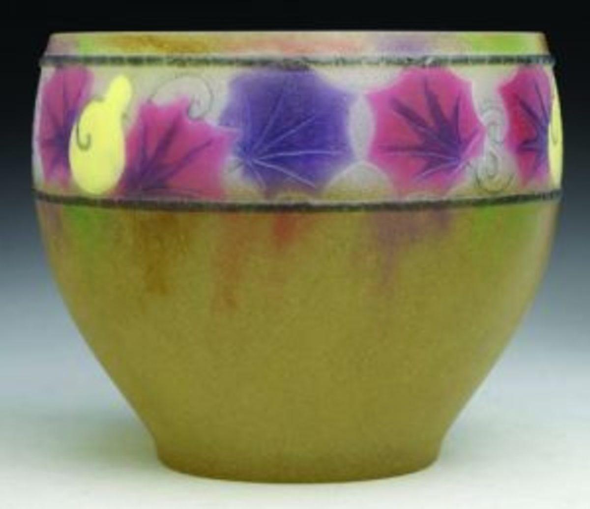 Argy-Rouseau bowl_Courges pattern