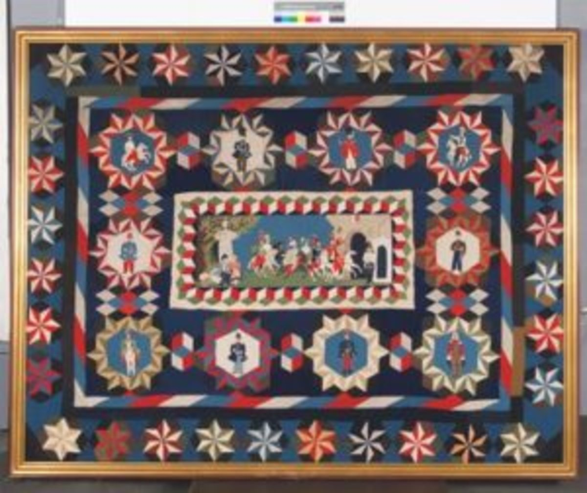 Hungarian soldier's quilt
