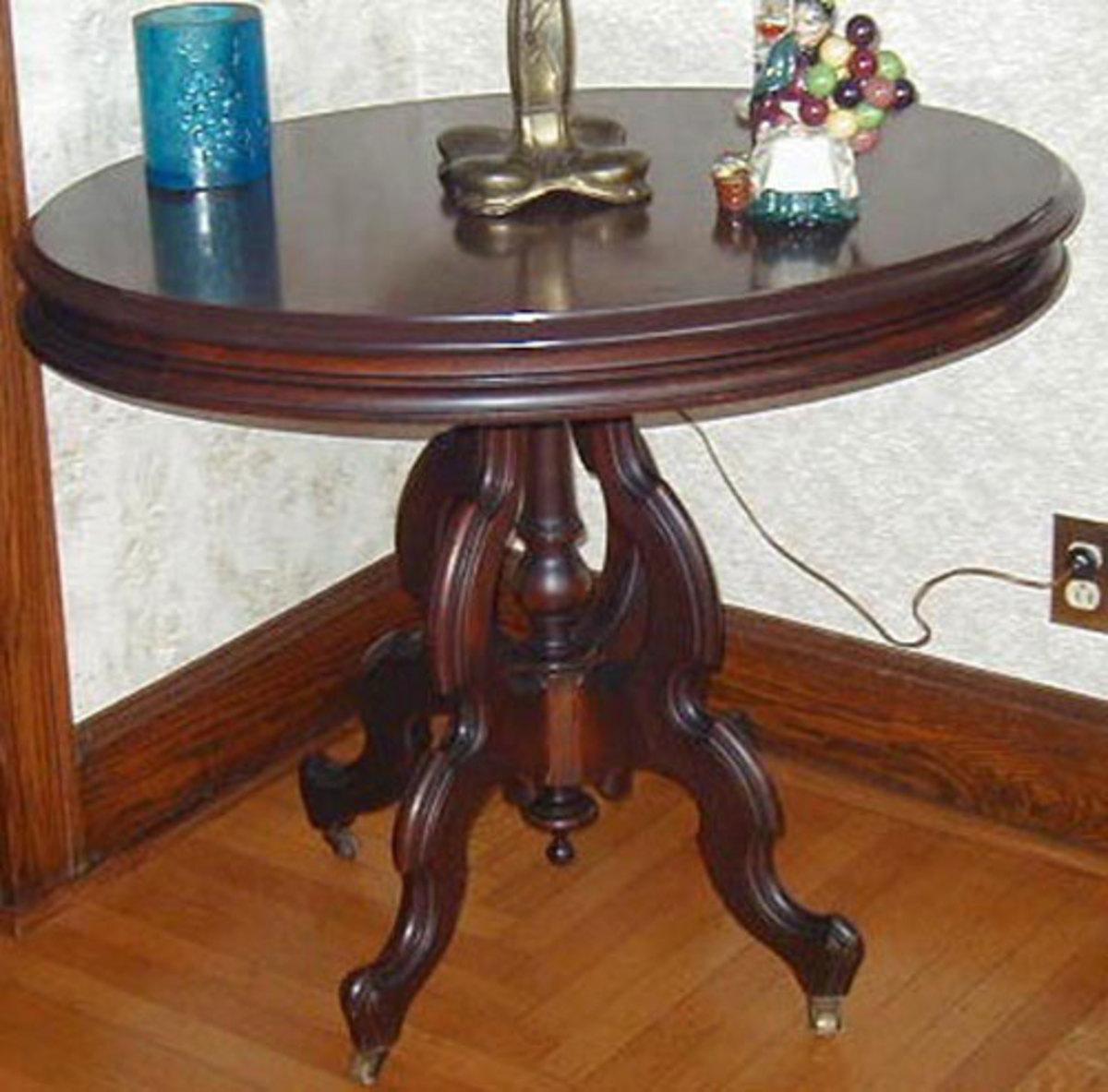 slate top table