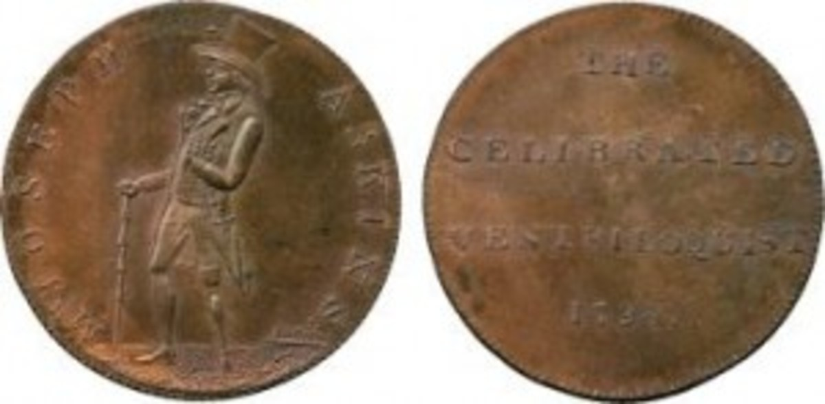 Copper halfpenny