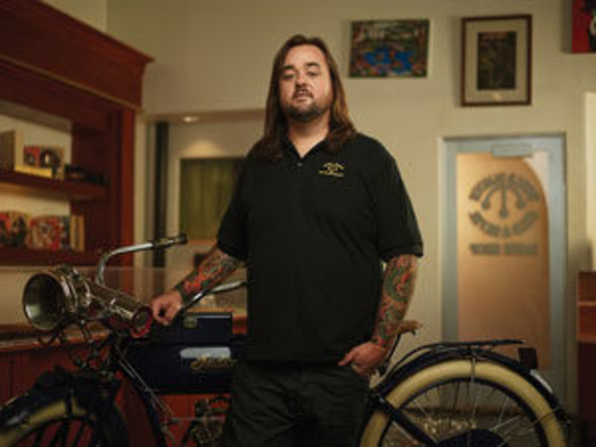 "Austin ""Chumlee"" Russell. Image courtesy of HISTORY/Pawn Stars"