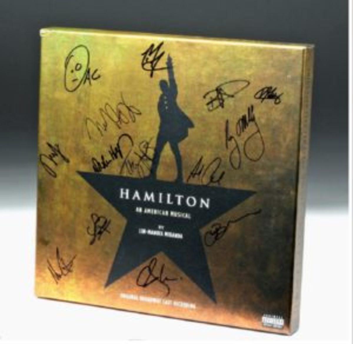 Hamilton LP recording signed