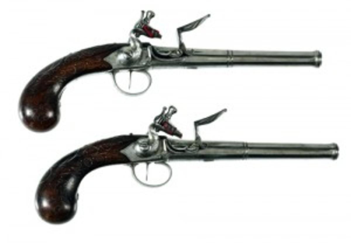 Queen Anne pistols