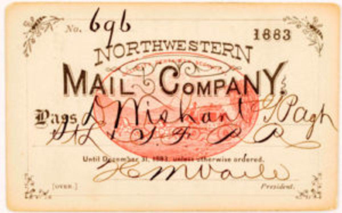 Mail company pass