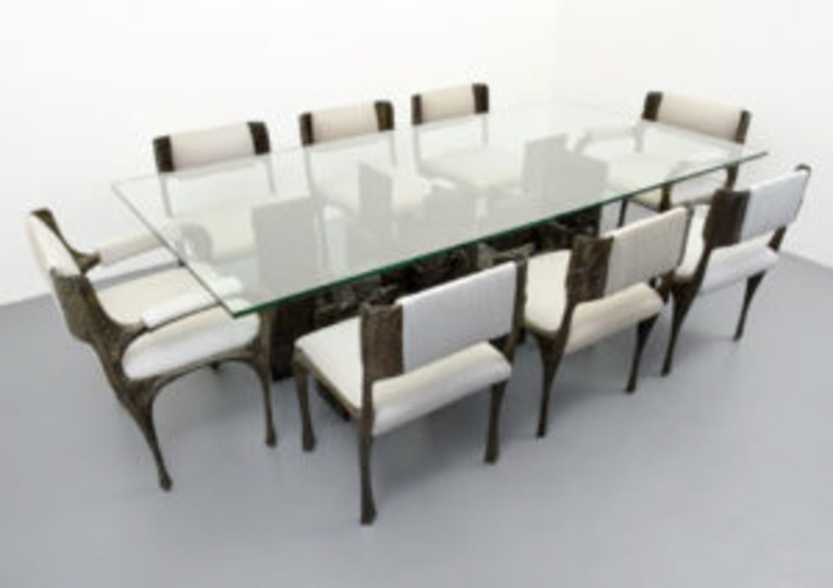 Evans table and chairs