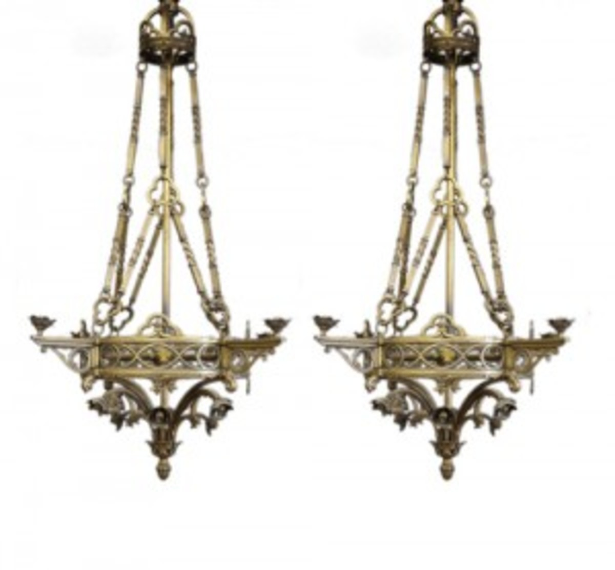 Gothic Revival chandeliers