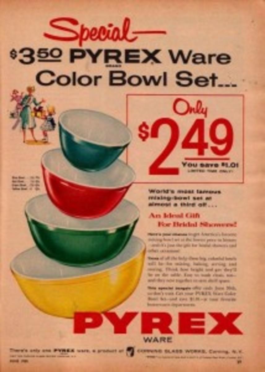 Pyrex vintage ad