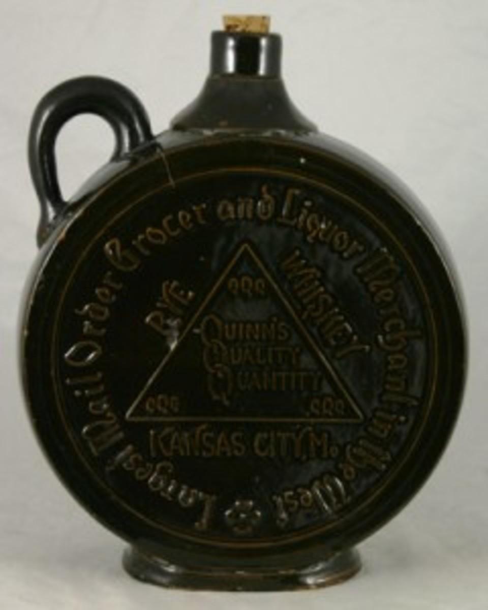 Rye Whiskey jar