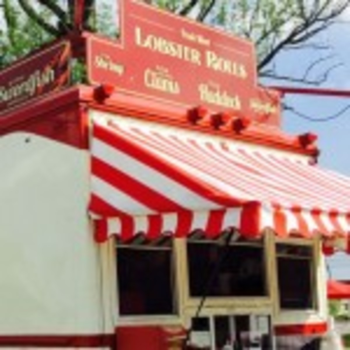 Lobster Roll stand