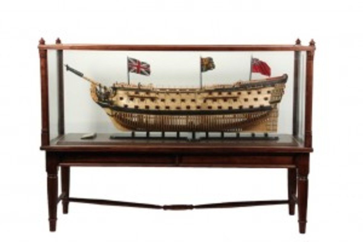 Bruckshaw model of ship