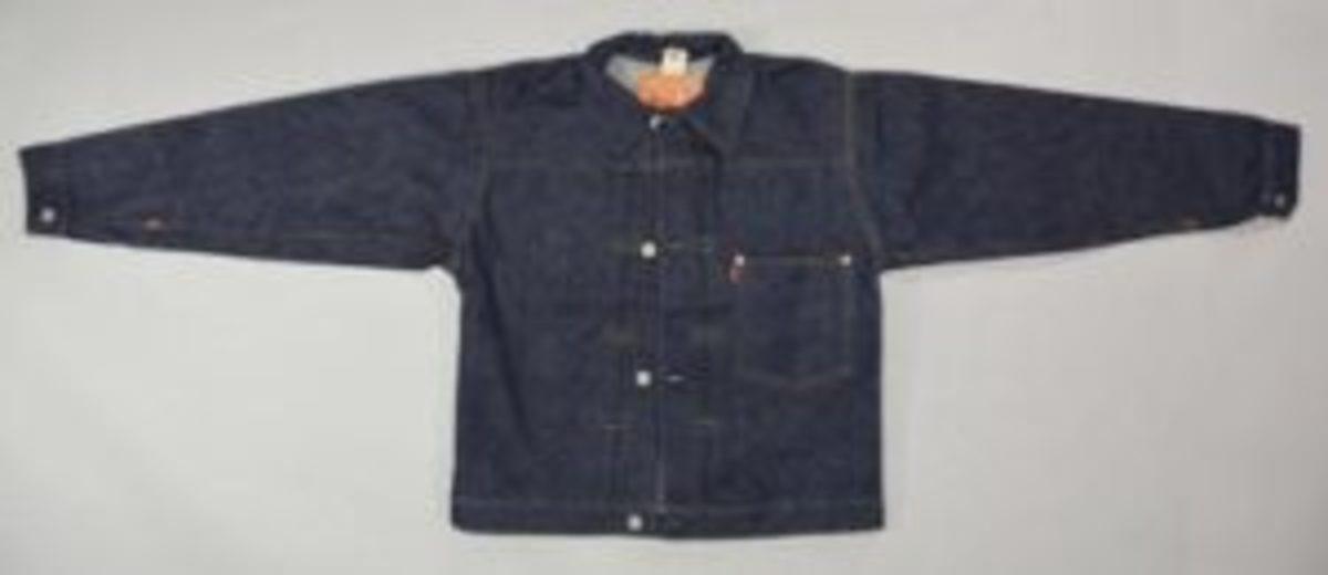 Rare 1940s Levis 506 denim jacket.