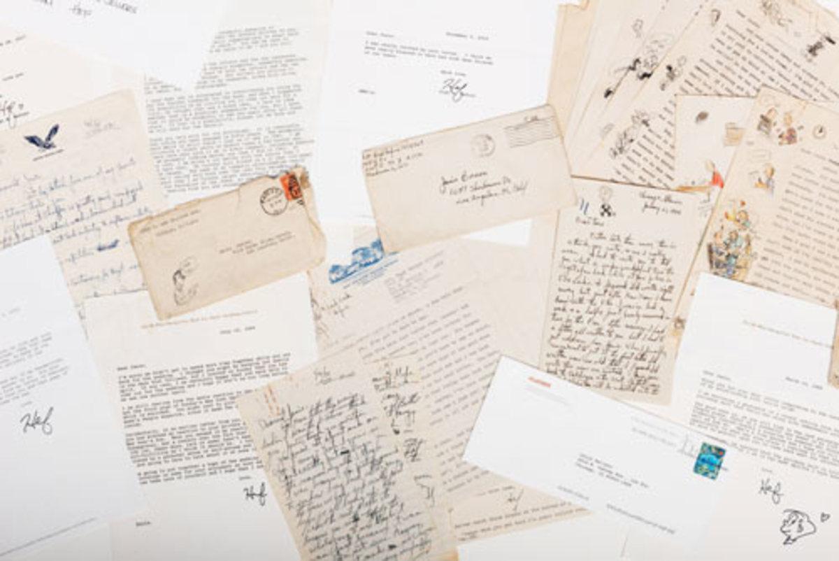 Collection of letters Hugh Hefner