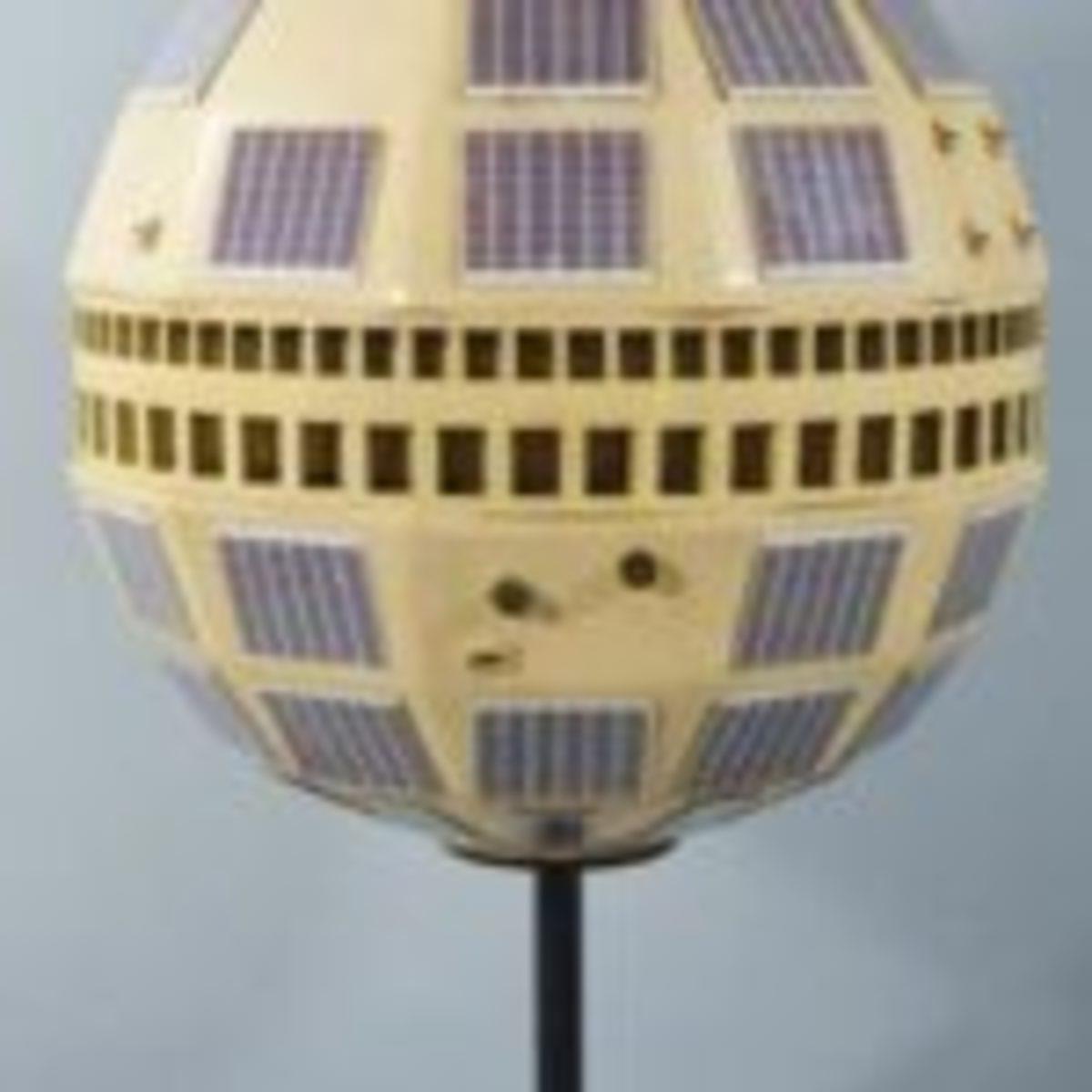 Bell Systems Model of a Telstar Communication Satellite.