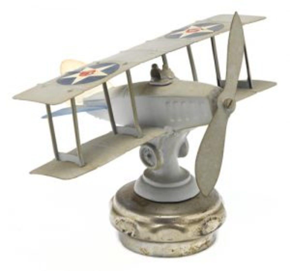 Bi-plane mascot