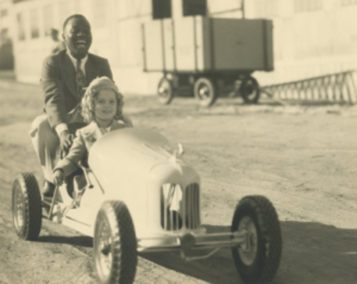 SHirley Temple and Bill Bojangles Robinson