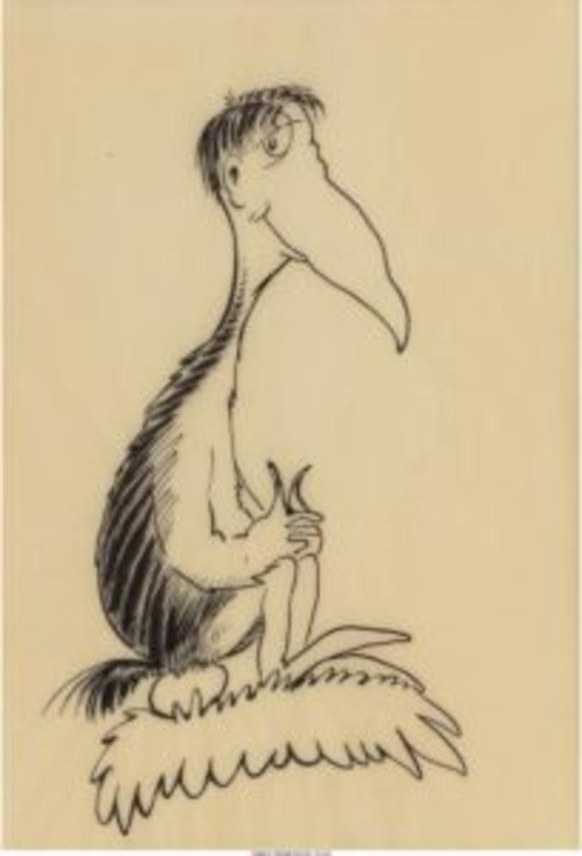 Self Portrait of Seuss