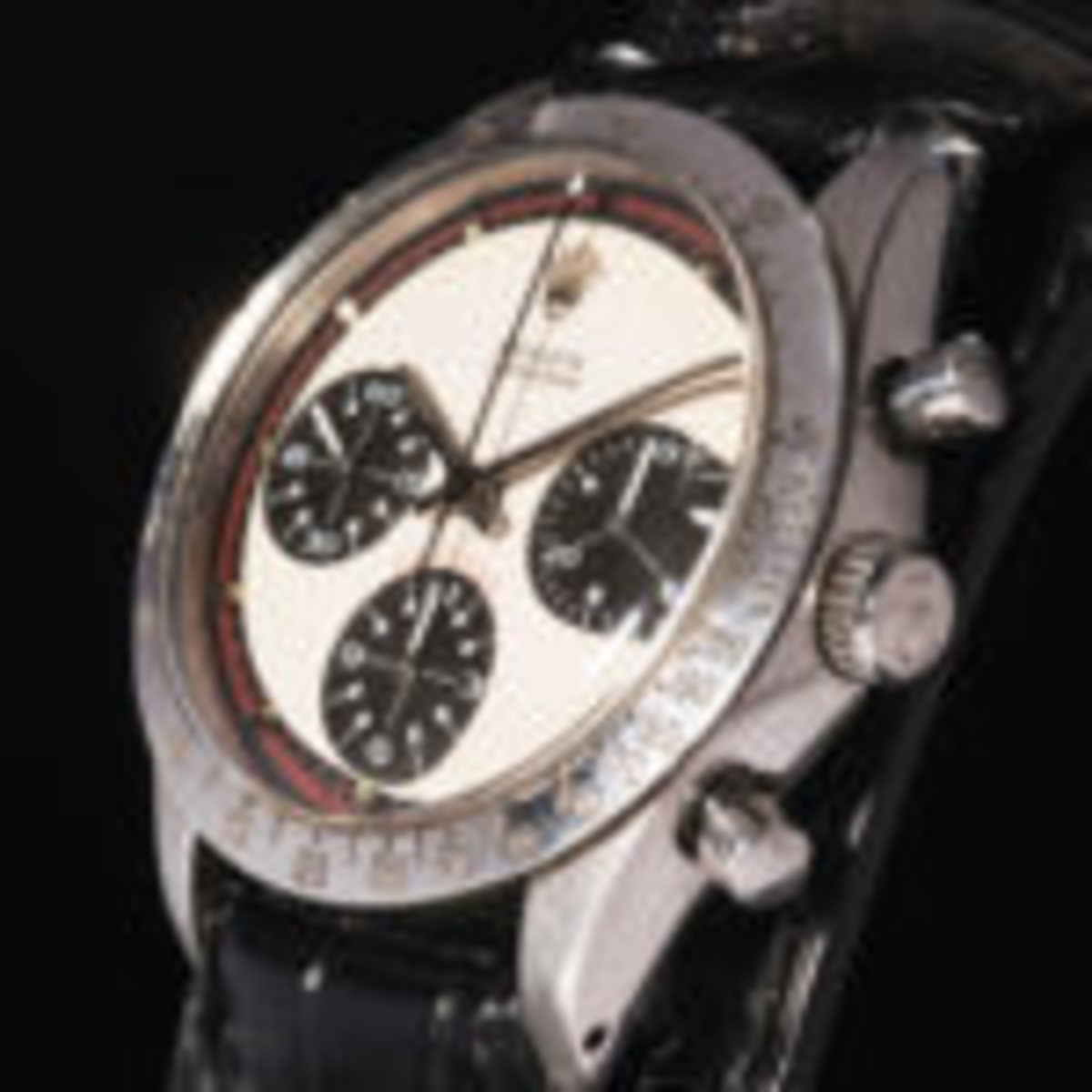 Paul Newman Rolex Daytona, made in the late 1960s, sold at auction in 2017 for a record US $17.75 million. Photo courtesy Phillips