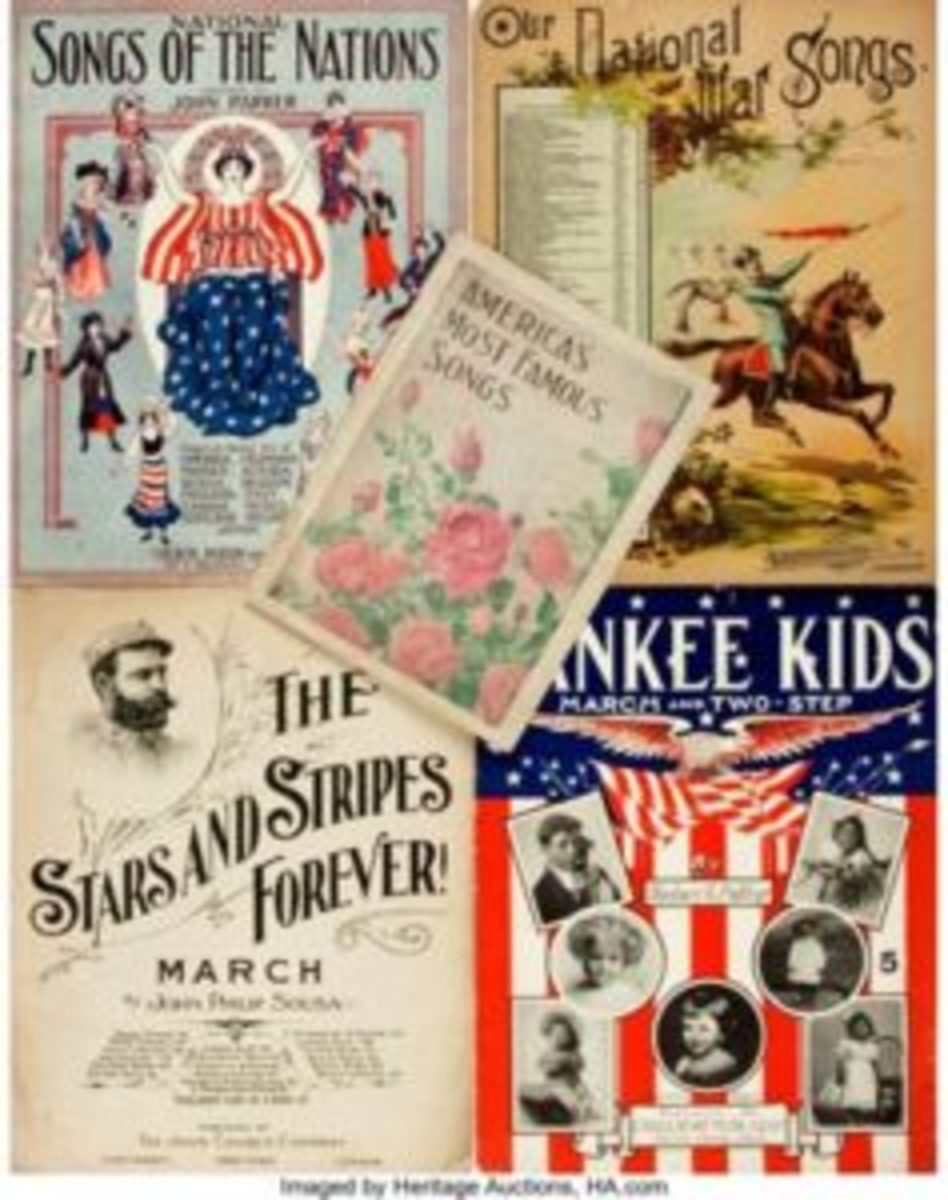 America's Most Famous Songs sheet music