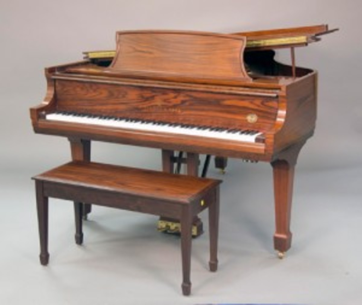 Steinway & Sons Model L piano, sold for $24,000.