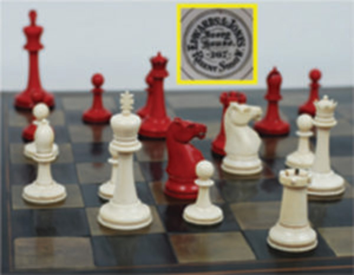 Edwards & Jones chess set