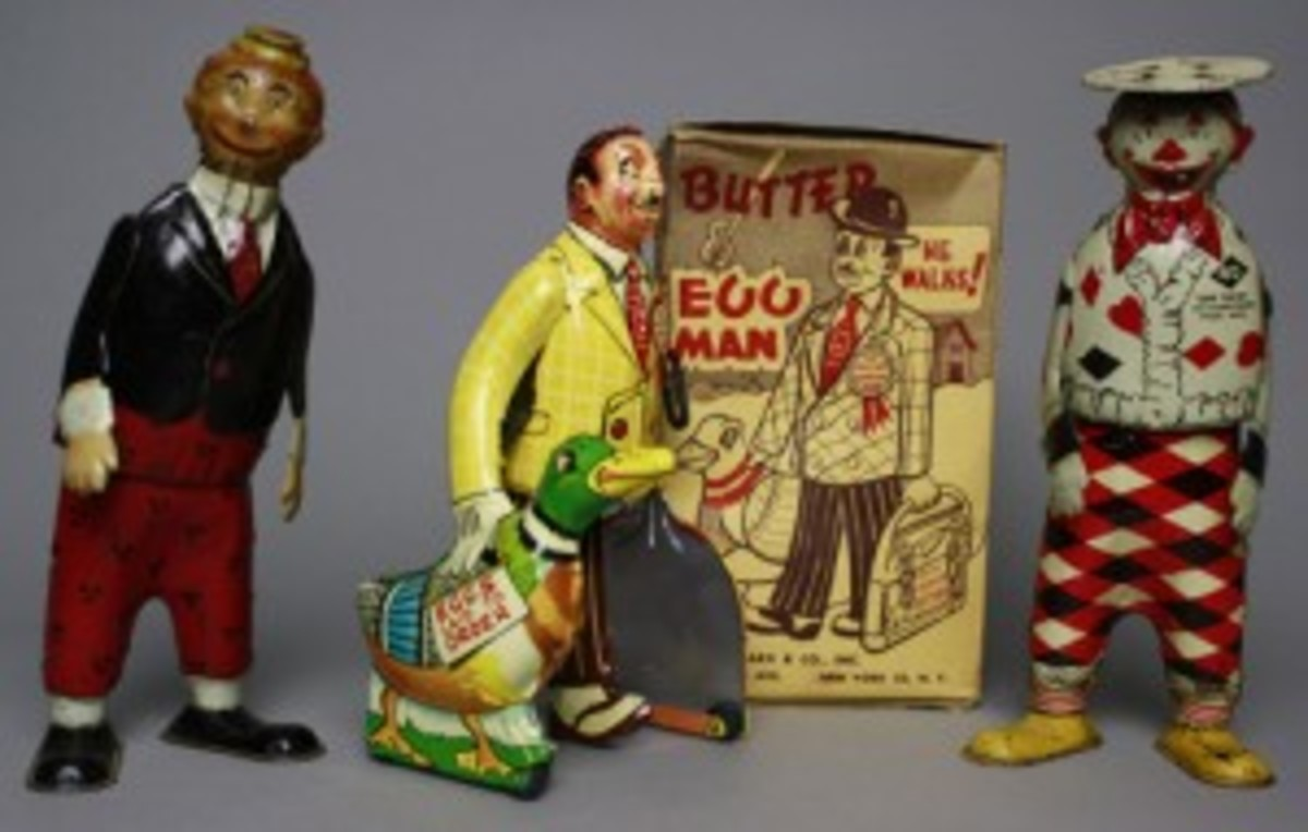 Marx and Strauss toys