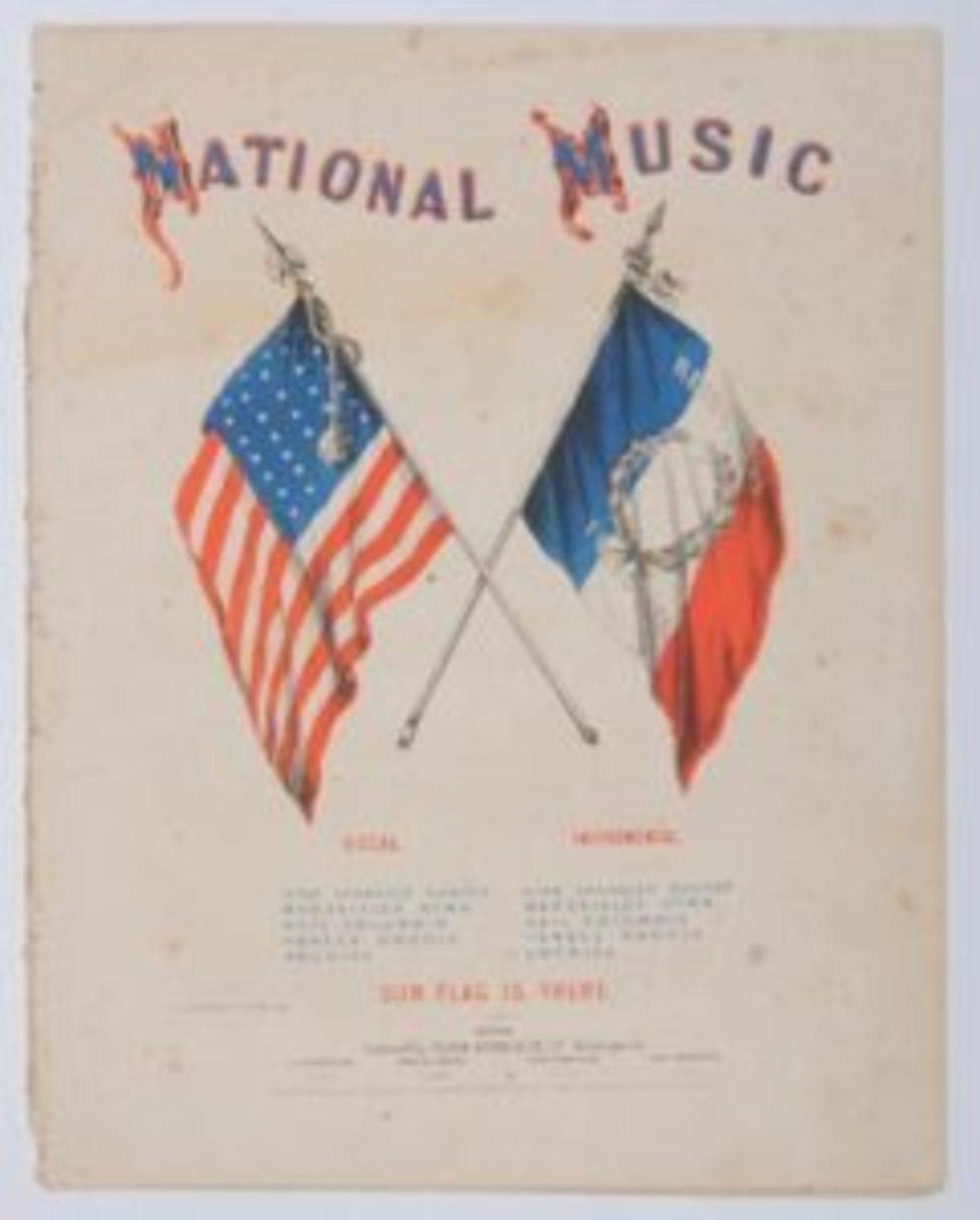 National Music sheet music