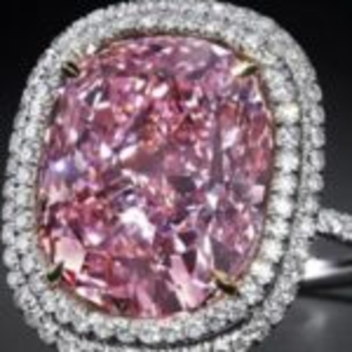 "This fancy Vivid Pink diamond sold by Christie's last year for $28.5 million was described as the ""Rolls Royce of diamonds."""