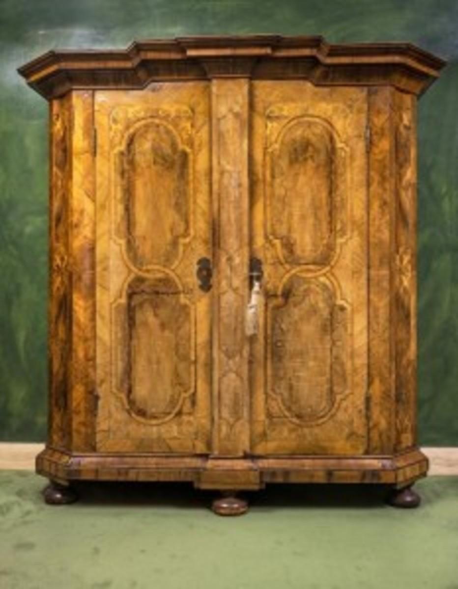 Austrian armoire cabinet