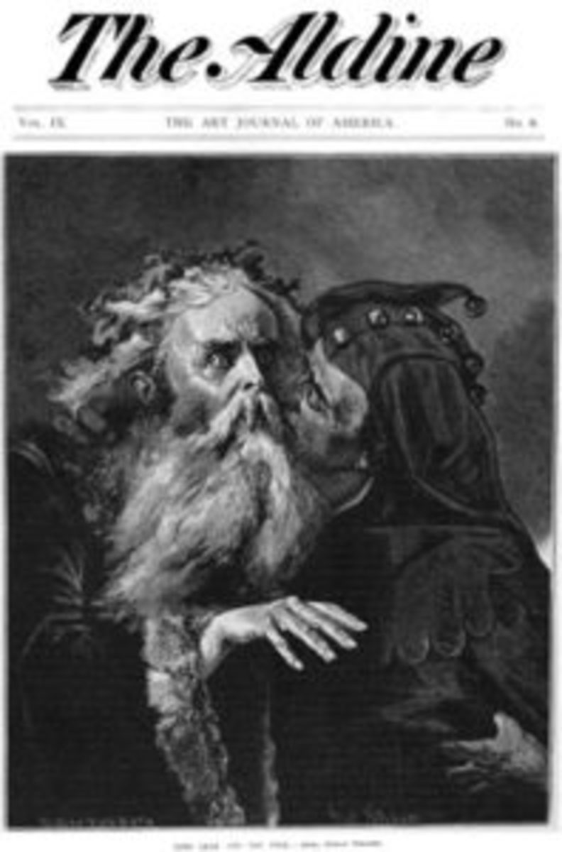 The illustration in The Aldine, Vol. IX, No. 6, The Art Journal of America 1878. Thought at first to be painted by Polish artist Jan Matejko, the painting is actually executed by German artist Gustav Schauer. Photos courtesy of Dr. Anthony J. Cavo