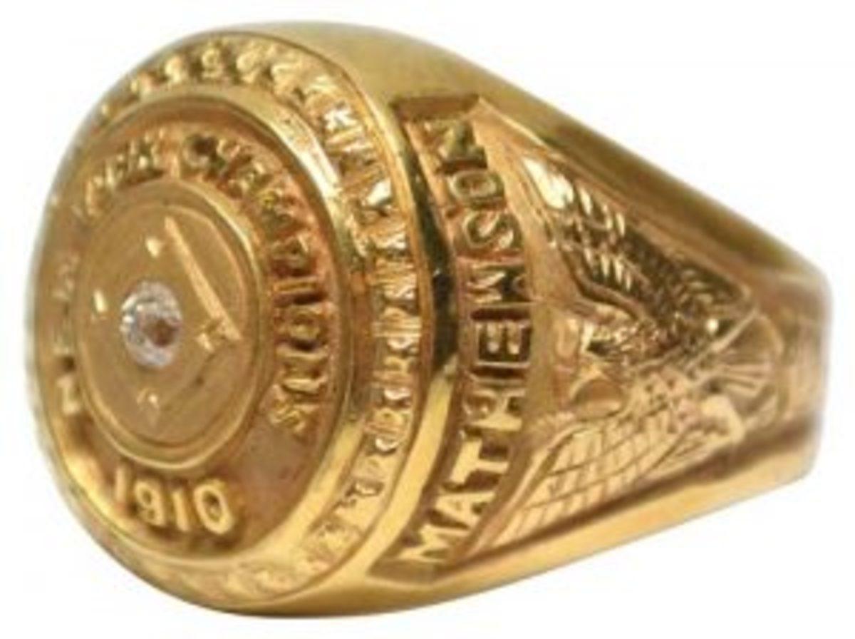 Christy Mathewson's ring