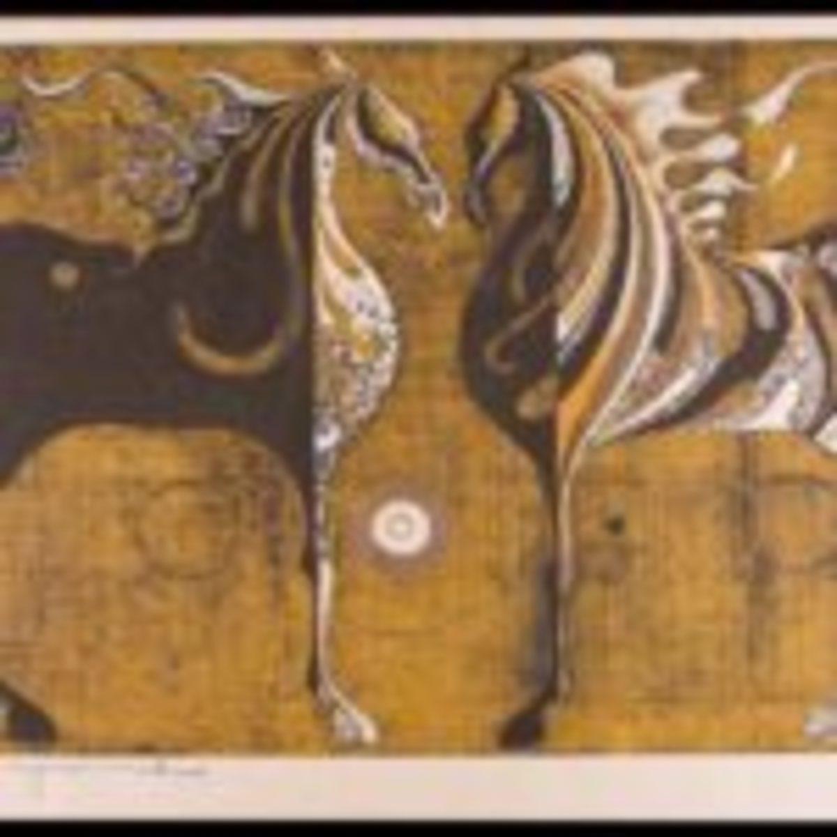 Nakayama, Tadashi, Two Horses