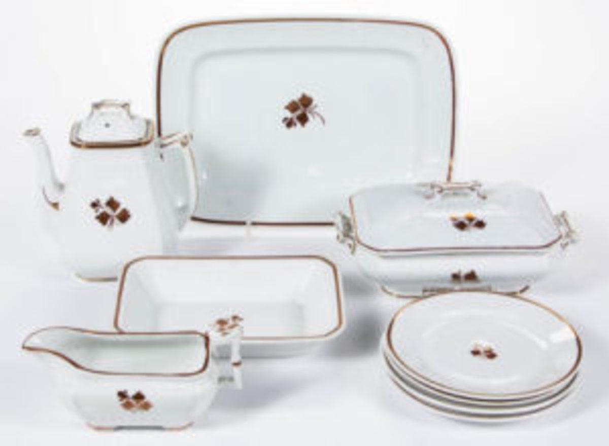 Tea Leaf table articles